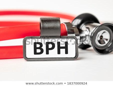Diagnosis - BPH. Medical Concept. Stock photo © tashatuvango