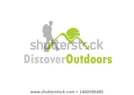 healthy man walking logo vector icon stock photo © blaskorizov
