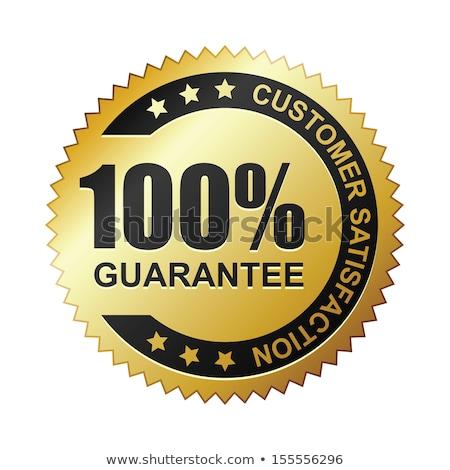 100 guarantee message stock photo © fuzzbones0