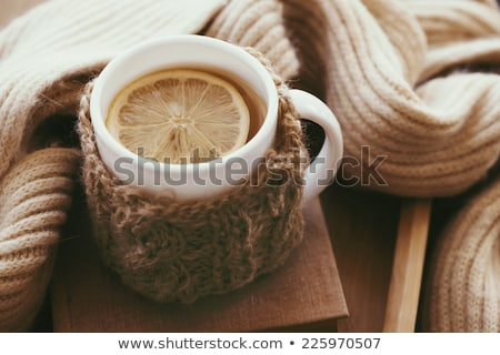 knitted wool cup stock photo © cookelma