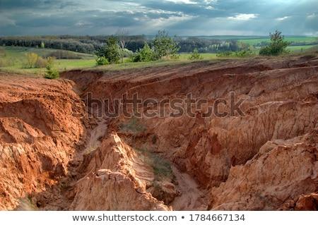 suelo · erosión · imagen · suelo · desierto · muchos - foto stock © lightsource