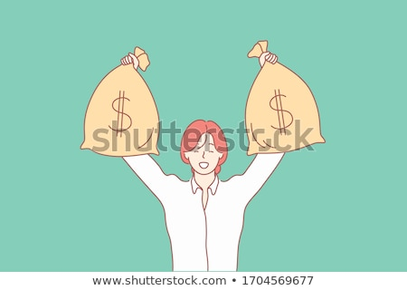 manager woman holding banknote Stock photo © Flareimage