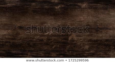Sötét fából készült textúra épület fa természet Stock fotó © -Baks-