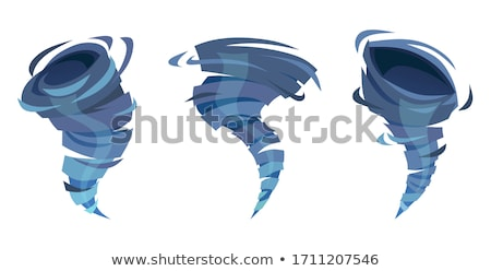 Cyclone tornado vector illustration Stock photo © m_pavlov