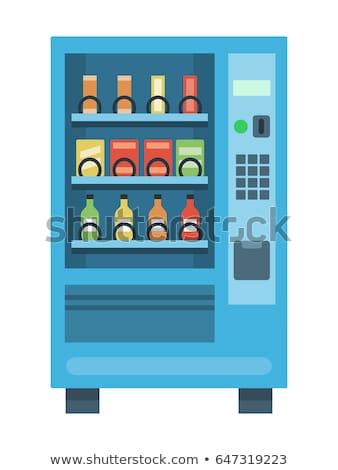 Rosso blu alto soda business Foto d'archivio © MaxPainter