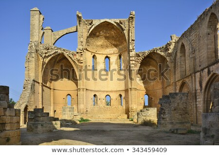 Ruins of the St. George of the Greeks Church. Famagusta, Cyprus Stock photo © Kirill_M