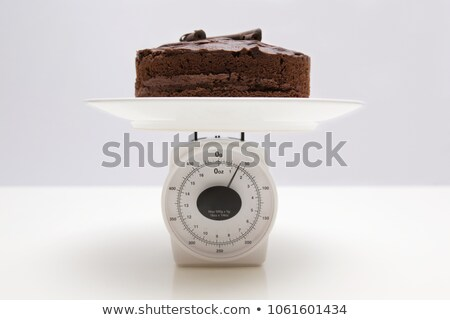 cake on scales stock photo © Mikko