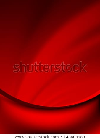 Red curtain fade to dark card. EPS 10 Stock photo © beholdereye