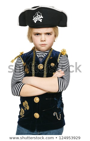Funny pirate isolated on the white Stock photo © Elnur