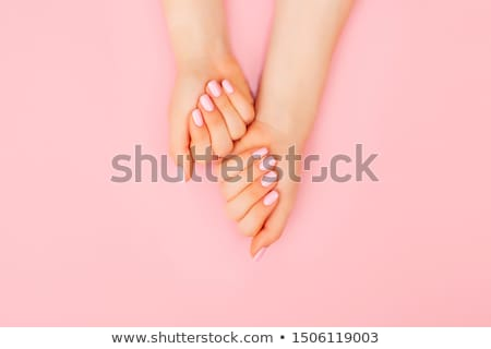 Foto stock: Manicure