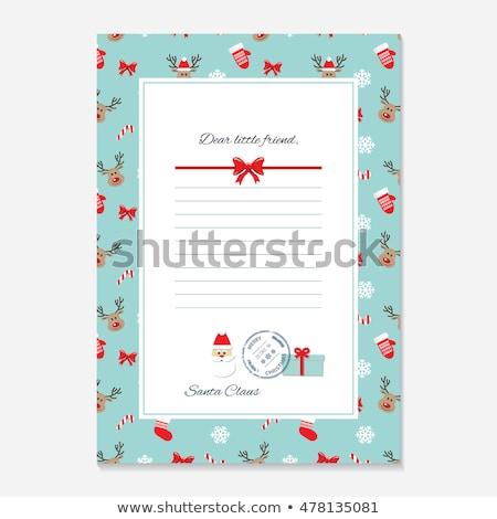 Rood stempel witte business frame teken Stockfoto © Zerbor