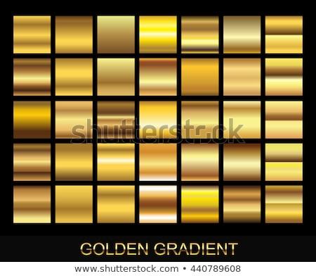 Foto stock: Dourado · venda · reflexão · 3D · caixas · preto