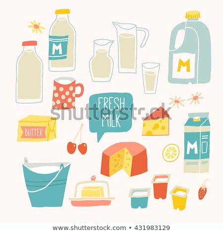 A gallon of strawberry milk Stock photo © bluering