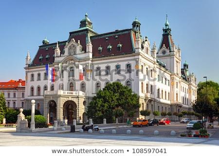 大学 スロベニア 日 ショット フロント 表示 ストックフォト © m_pavlov