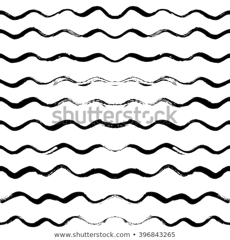 Vector Seamless Hand Drawn Wavy Lines Grunge Pattern Stock photo © CreatorsClub