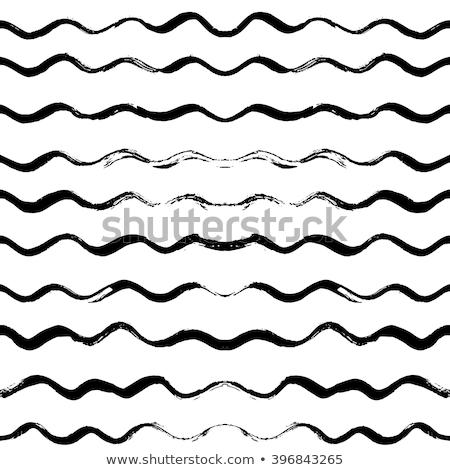 Vektör dalgalı hatları grunge Stok fotoğraf © CreatorsClub