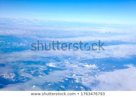 montanha · alcance · belo · montanhas · ver · aves - foto stock © Vanzyst