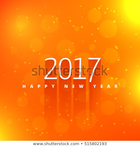 Orange texte style effet heureux fond Photo stock © SArts