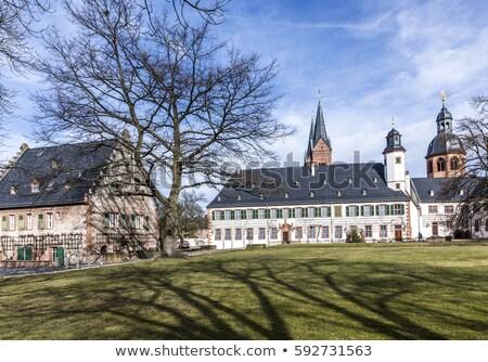 famous benedictine cloister in Seligenstadt, Germany Stock photo © meinzahn