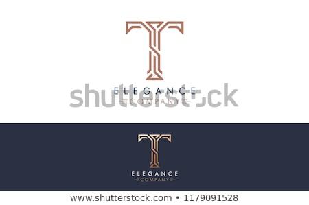 Stok fotoğraf: Altın · soyut · logo · logo · tasarımı · 10 · iş
