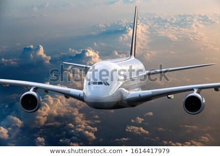 Szárnyak felhők repülés kék Stock fotó © meinzahn