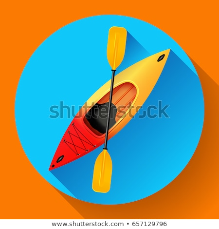water · zee · sport · roeien · rafting · kajak - stockfoto © marysan