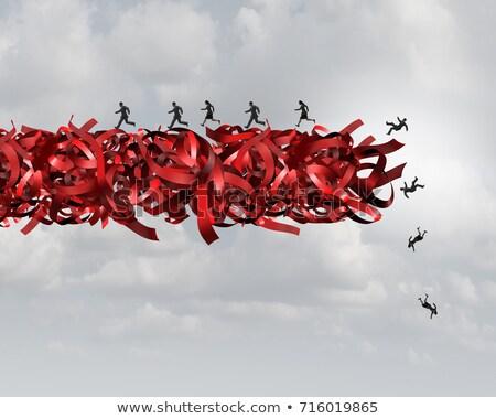 Stok fotoğraf: Red Tape Risk