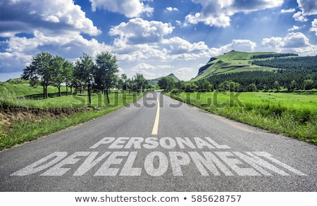 Personal Development. Education Concept. Stock photo © tashatuvango