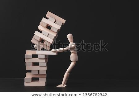 kudarc · stratégia · üzlet · hanyatlás · kihívás · ceruza - stock fotó © stevanovicigor
