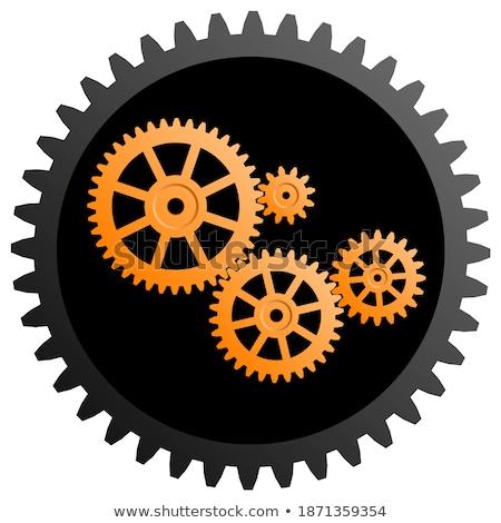 Makinalar mühendislik altın madeni mekanizma Stok fotoğraf © tashatuvango