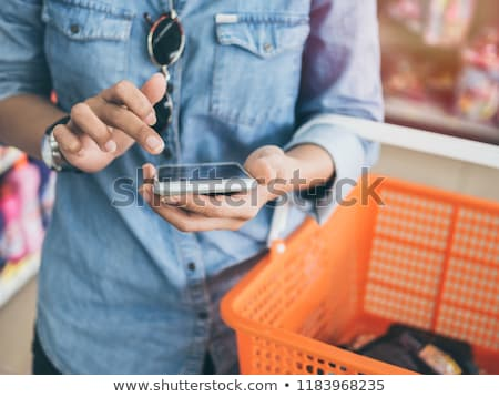 women shopping comparing sunglasses Stock photo © IS2