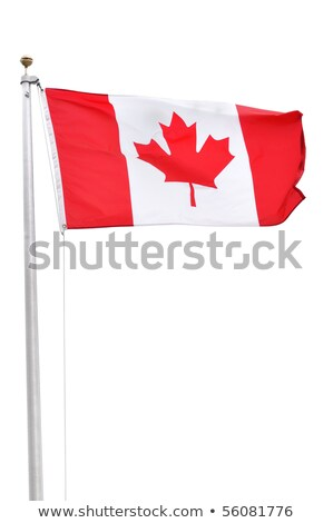 Canada patriot isolated on white background Stock photo © rogistok