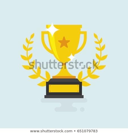 premio · Cup · etichetta · trofeo · vincitori - foto d'archivio © terriana