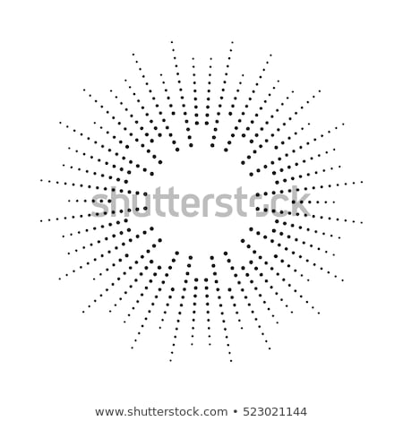 vector abstract radial burst. black star explosion Stock photo © freesoulproduction