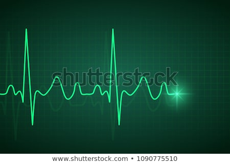 abstract medicine heart beat banner Stock photo © alexaldo