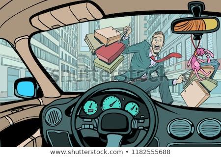 tableau · de · bord · voiture · intérieur · gradient - photo stock © rogistok