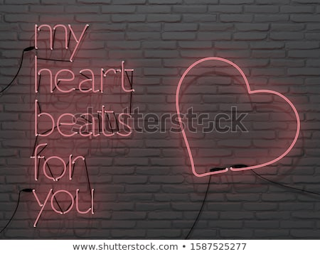 I Love You Neon Sign Stock photo © Anna_leni