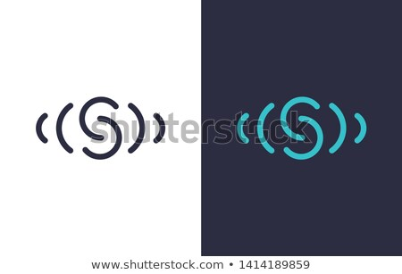 緑 黒 シンボル 手紙 ロゴタイプ にログイン ストックフォト © blaskorizov