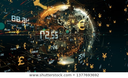 dollar and euro global market currency Stock photo © alexaldo