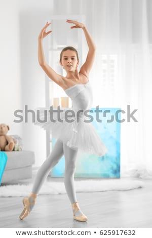 aranyos · kicsi · hercegnő · álmodik · portré · boldog - stock fotó © choreograph