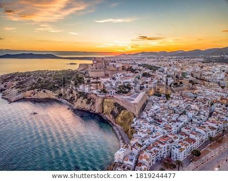 Kanon eiland kasteel eilanden Spanje Stockfoto © lunamarina