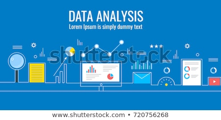 Data driven marketing concept vector illustration. Stock photo © RAStudio
