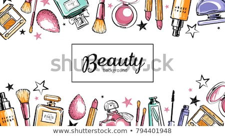 vector paris cosmetic concept stock photo © dashadima