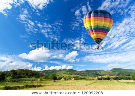 hot air baloon on the sky Stock photo © glorcza