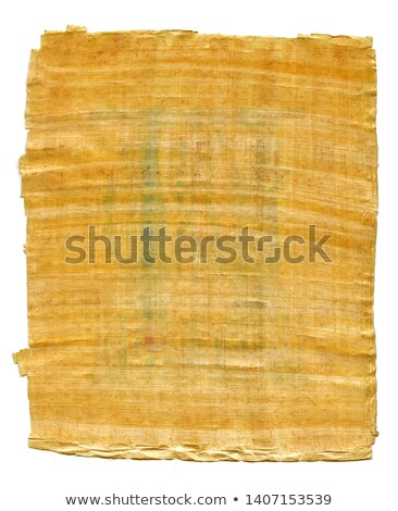 fragment of ancient egyptian papyrus from the karnak temple thebes valley luxor egypt stock photo © glasaigh