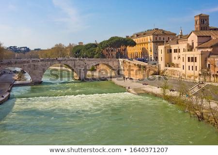 Roma puente romana piedra Italia oeste Foto stock © borisb17