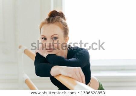 美しい 女性 バレエダンサー 生姜 ストックフォト © vkstudio