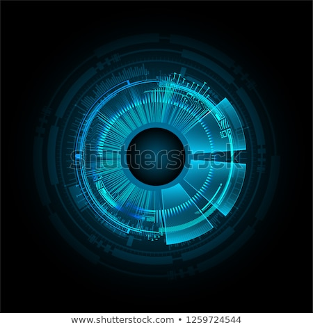 abstract digital eye stock photo © pathakdesigner