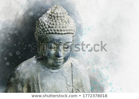 寺 · エメラルド · タイ · 細部 · 建物 · 葉 - ストックフォト © smithore