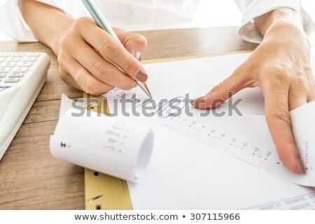 adding up bills stock photo © latent